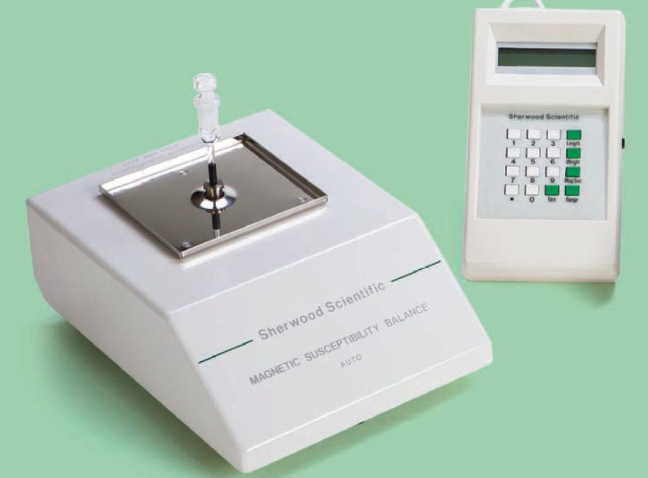 Magnetic susceptibility balance Sherwood Scientific MSB Auto