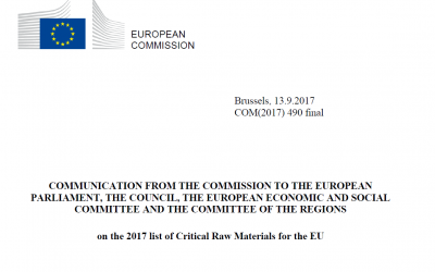 EC publishes new list of Critical Raw Materials