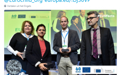 DEMETER video wins prize during EC JRC conference