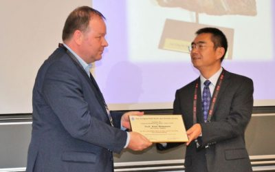 Prof. Binnemans wins LeCoq de Boisbaudran award at ICfE-10