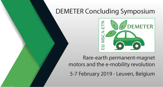Register for the DEMETER Closing Symposium (5-7 Feb' 2019)