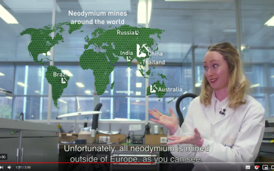 New video released on first recyclable e-motor (EU DEMETER)