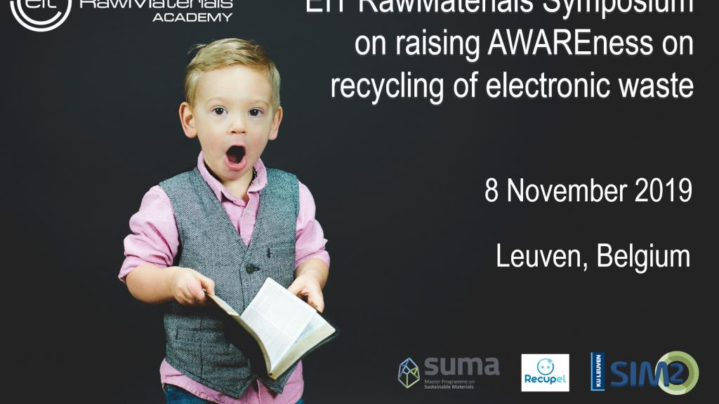 Registration now open for EIT RawMaterials Symposium AWARE