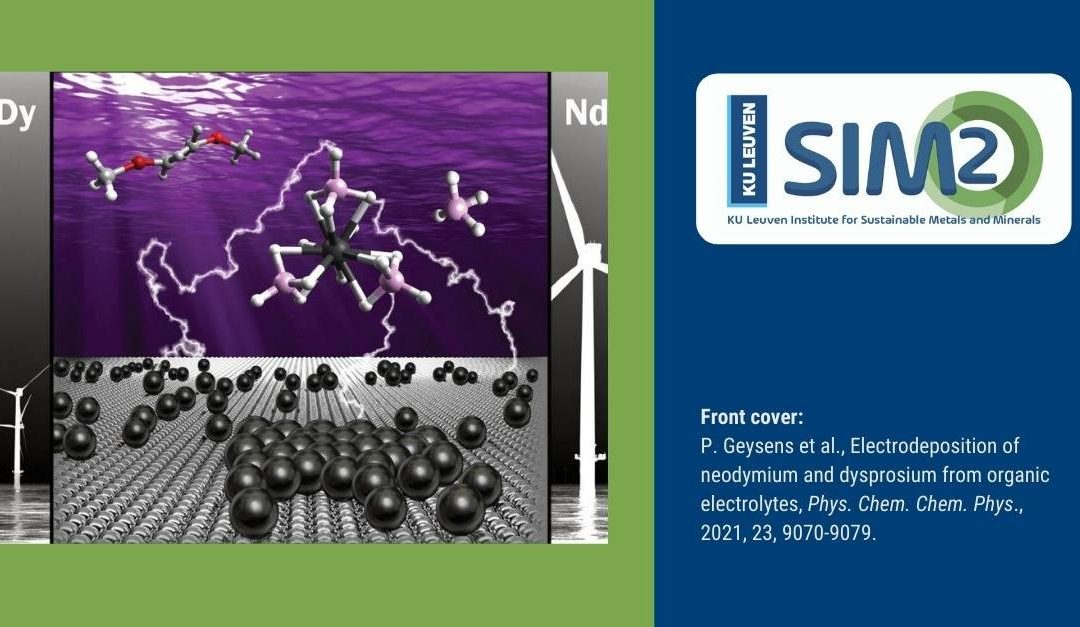 Electrodeposition of neodymium and dysprosium from organic electrolytes